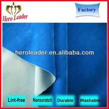 Hot sale reusable lint-free microfiber cleaning cloth in roll made in china