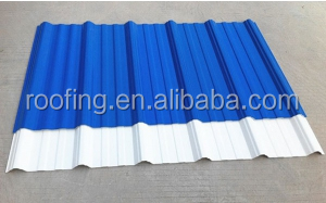 Lasting beautiful color ASA +PVC Anti-corrosive composite roof tile