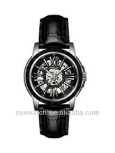 Debolon Men's Skeleton Ceramic Surface luxury watch fashion jewelry automatic watches