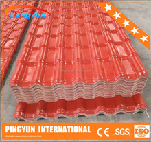 Recycling Roofing Material/ASA PVC roofing sheet/Spanish Plastic Roof Tile