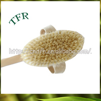 Professional and fashional bamboo decorative hair brush