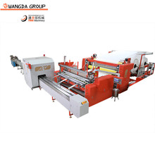 Factory price automatic slitter control small toilet roll paper making machine