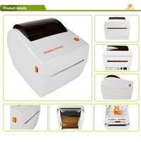 Thermal Paper Roll Label Printer/Express waybill sticker printer/4