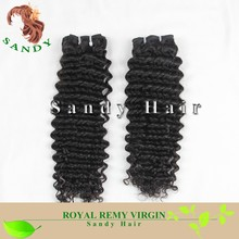 Factory Price Grade 8A Deep Wave Unprocessed Wholesale Virgin Brazilian Hair