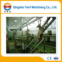 halal living sheep goat slaughtering equipment abattoir mchine