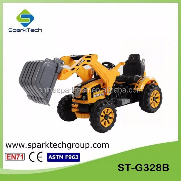 New Arrival Children 12v Electric Ride On Toys Excavator ST-G328B
