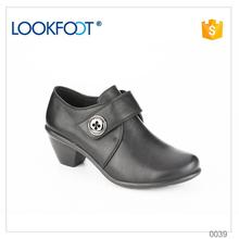 factory price wholesale latest design ladies leather shoes made in China