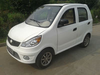 Long Range gas electric car for 4 persons