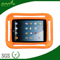 Kids safe portable handheld EVA foam tablet pc case for ipad air