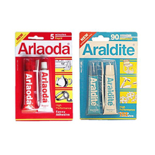 Araldite Transparent Strong epoxy AB glue bonding metal jewelry