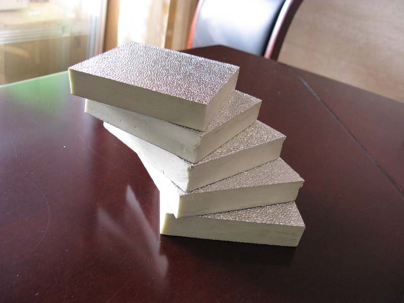 XPS Polystyrene Board with Galvanized Iron and Aluminum