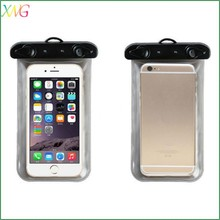 High Quality colorful PVC waterproof cell phone bag case for Iphone 6