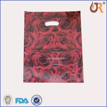 HDPE/LDPE Soft Loop Handle Poly Plastic Packing Bag for Shopping