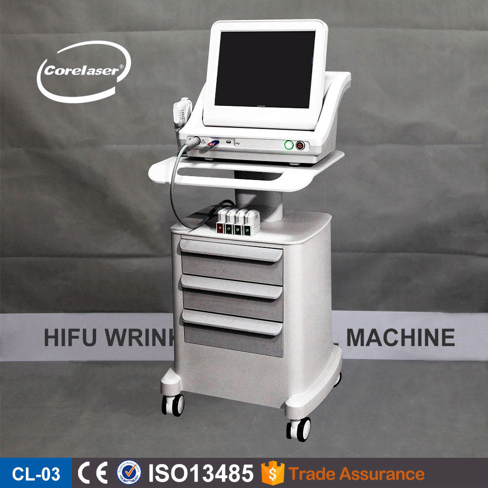 Popular ultrasound system new hifu fu4.5-2s professional face lift device