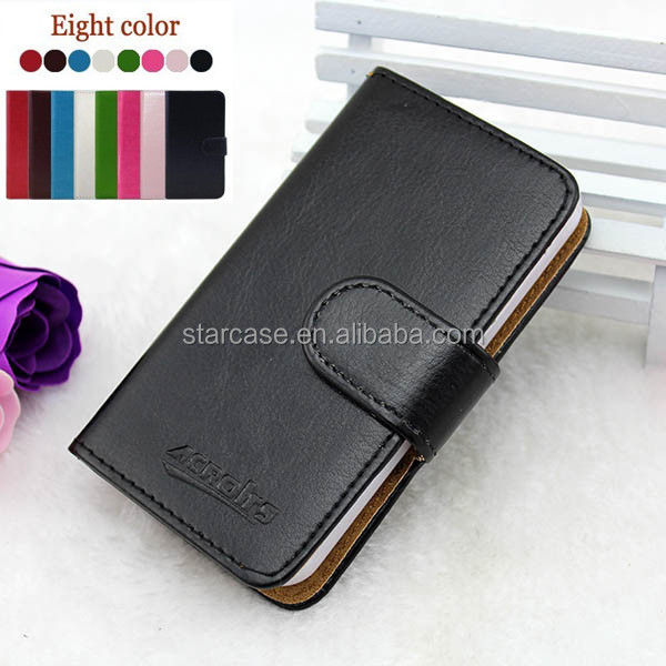 Small MOQ Wholesale High Quality Stand Wallet Leather Flip Case for LG Optimus Me P350