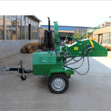 High quality WC-22 22HP diesel engine selfpower Wood chipper for sale