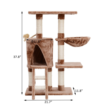 Cat Tree Scartching Condo Furniture, Cat Towers