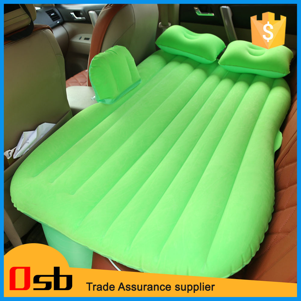 Easy taking away Holiday Travel inflatable car air beds inflatable bed for SUV cars mattresses