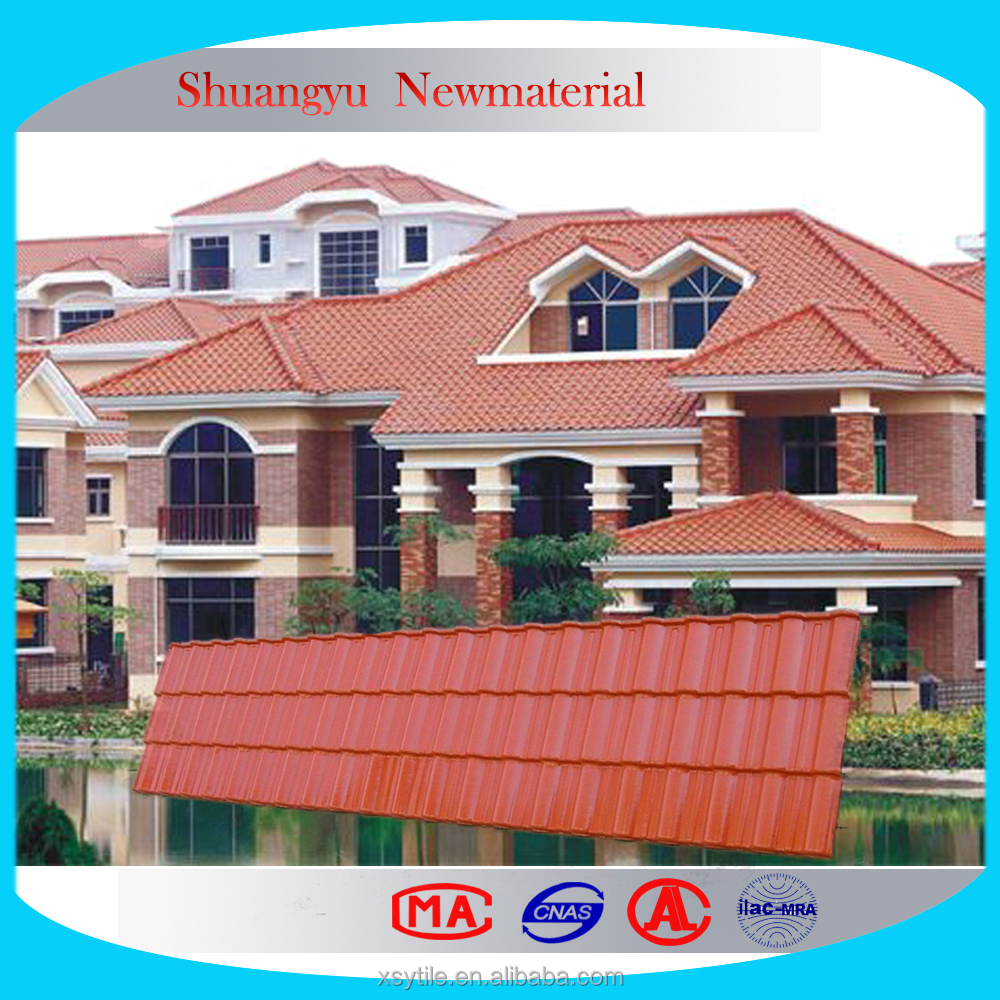 Construction Materials Acid Proof UPVC Roof Tile/Construction Building Materials