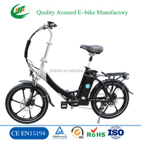Cheap Steel Frame Folding Electric Bicycle, Electric Folding Bike (TDN02Z)