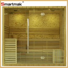 Steam sauna room,luxury individual stone traditional sauna room for 3-4 person