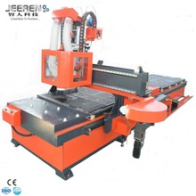 woodworking cnc router machine/High Quality Double Table ATC CNC Wood Router with Best Drilling Machine