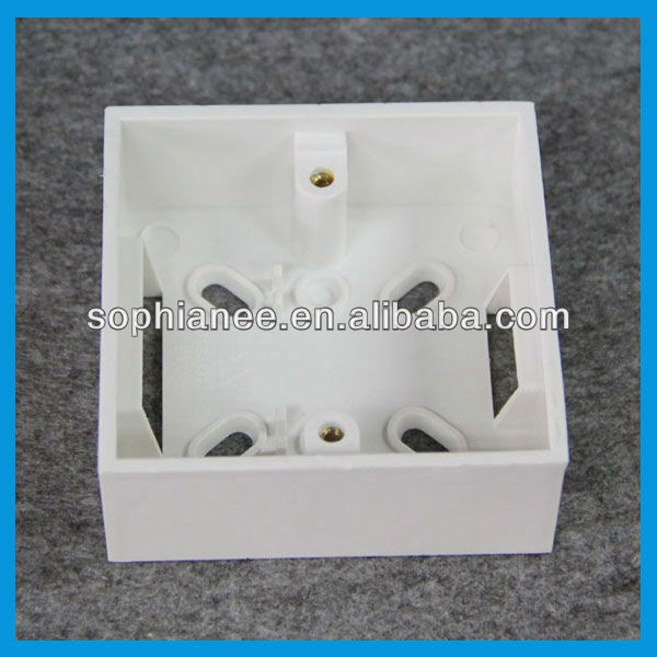 Plastic Electrical Flush Mount Wall Box