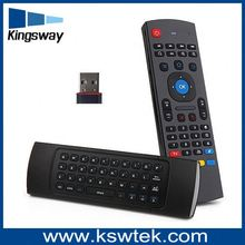 6-Axis Gyro Smart Remote controller 2.4g mx3 air mouse for anroid tv box