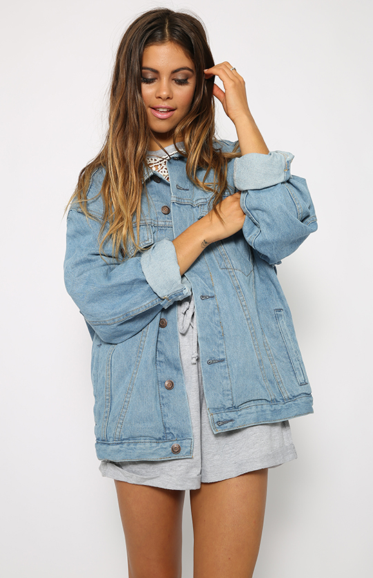 2017 custom made clothing manufacturers denim jacket women for lady