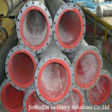 Rubber Liner Carbon Steel Pipe For Mine Tailings Wear Rubber Lined