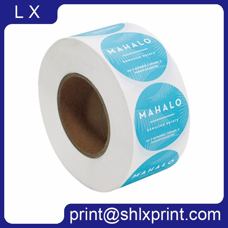 Custom Printed Self Adhesive Brand Label