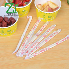 Sushi Disposable customized logo bulk bamboo disposable chopstick 21cm With Custom Chopstick Sleeve