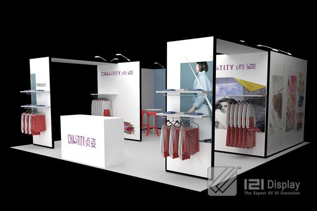 Modular Exhibition Booth : Economical diy modular exhibition booth display