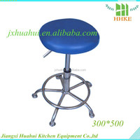 modern stainless steel cheap used bar stools 201 material director chair lab stool