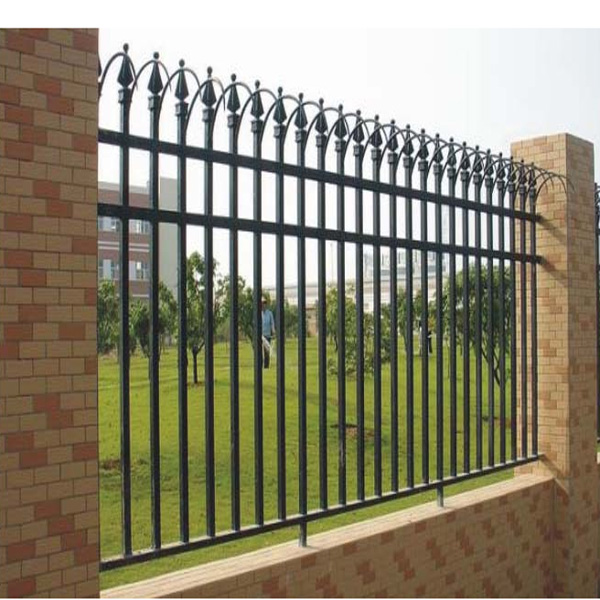 High security anti climb fence with easy install