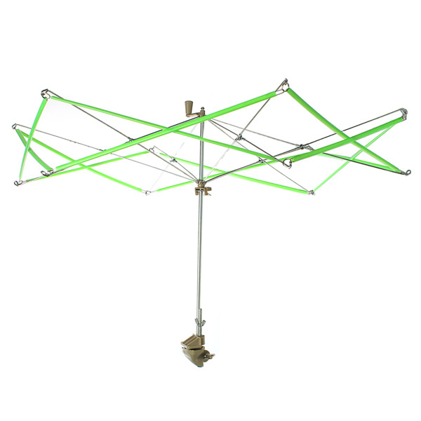 Wholesale Green Plastic Umbrella Swift Yarn/Fiber/String/Wool Winder Holder