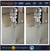 Glass staircase handrail / perspex stair post / PMMA balustrade