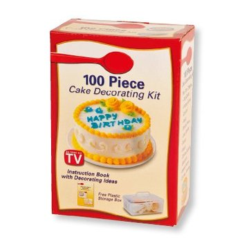 Cake Decorating Kit Of The Month : 100 Piece Cake Decorating Kit - Buy Cake Decorating Kit ...