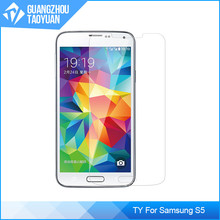 Tough tempered glass screen protector for Samsung Galaxy S5, for Samsung Galaxy S5 glass screen protector