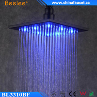 Beelee BL3310BF 10-inch Best Quality Water Saving Square LED shower
