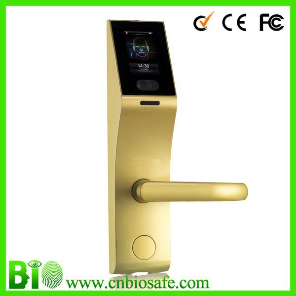 China Factory Price Support smart alarm Door Lock Face Recognition HF-LF100