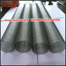 SS perforated metal tube /Perforated metal filter tube