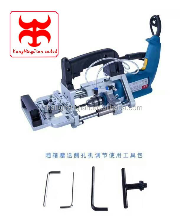 Pneumatic level drilling