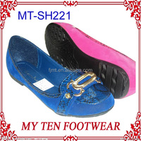 Fancy Royal Blue Cheap Slip On Shoes For Women