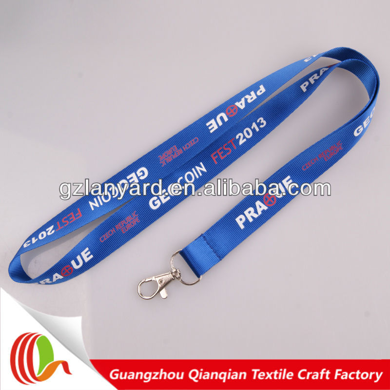 Decorative camera neck custom nylon Eco friendly lanyard