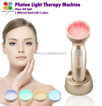 Led red light therapy machine, blue light acne therapy machine, light therapy