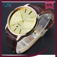 oversized large mens waterproof 2012 top brand mens watches leather strap