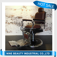 Luxury elegant modern chair hydraulic reclining barber chair