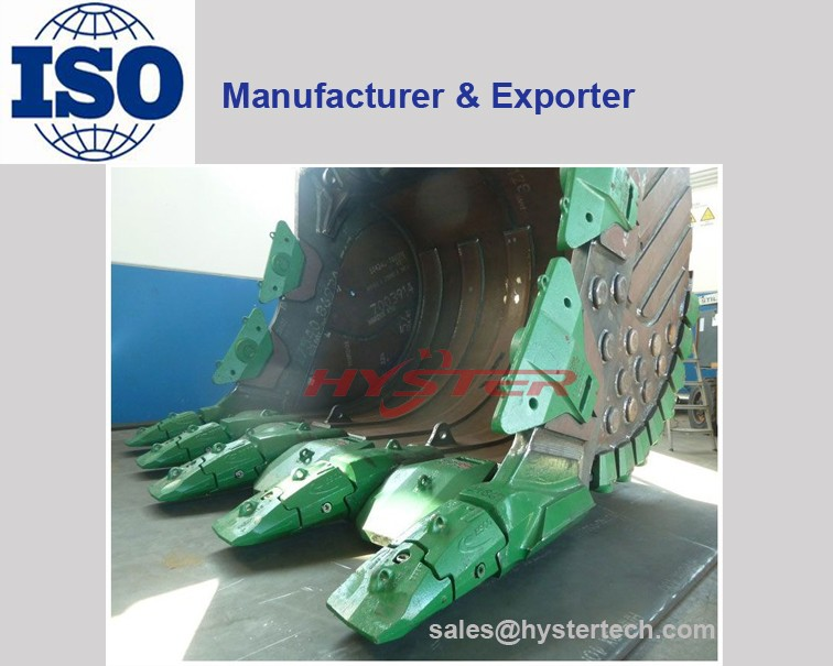 excavator bucket teeth wear parts and wear attachment