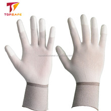 2018 Comfortable Light13 Gauge Nylon PU Gloves for Industry Workers